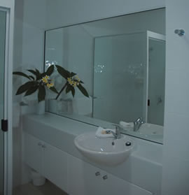 Bathrooms at Ripples Holiday Accommodation North Queensland