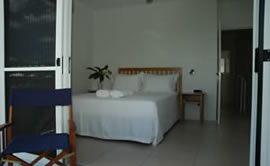 Bedrooms at Ripples Accommodation